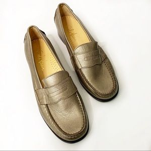 Cole Haan Bronze Loafers